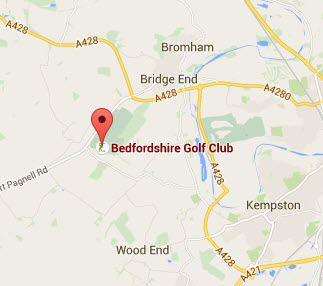 BedfordshireGolfClubLocation