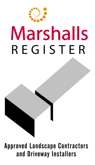 Marshalls Registered Accredited Landscape Contractor and Driveway Installer
